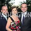 Photo by Tony Powell. Luis Casamayor, Adrienne Arsht, Jorge Plasencia. Adrienne Arsht Salon Dinner for National Hispanic Foundation for the Arts. September 13, 2010